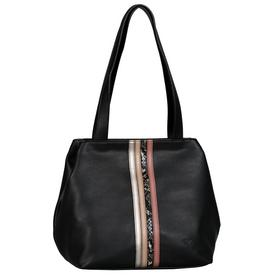 Miri Fall Shopper, Zip shopper M mixed black