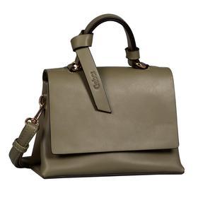 DARIA Flap bag, khaki - 35/khaki