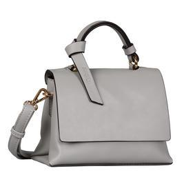 DARIA Flap bag, light grey - 72/light grey