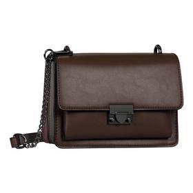 TIA Flap bag, mixed brown - 136/mixed brown