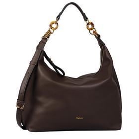MARIAN Hobo bag, dark brown - 28/dark brown