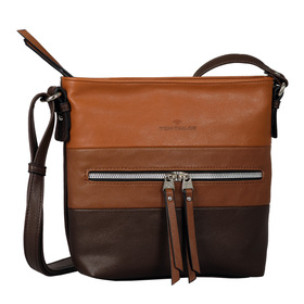 ELLEN Cross bag, mixed cognac