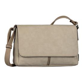 Imke Flap bag, Flap bag S no zip taupe