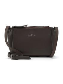 TANIA Cross bag, dark brown - 28/dark brown