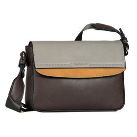 HENRIETTA Flap bag, mixed brown