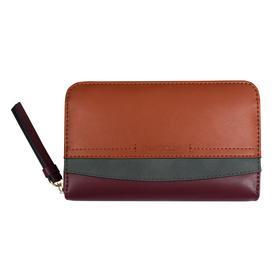 Henrietta Wallet, Medium zip wallet mixed black