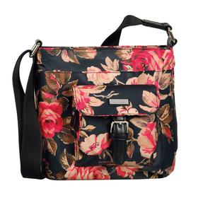 RINA ROSE Cross bag, flower black