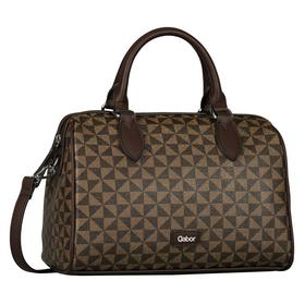 BARINA Bowling bag, printed brown