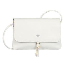 LUNA Flap bag, white - 12/white