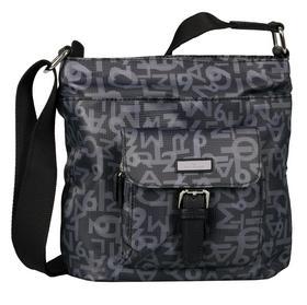RINA TT Hobo bag, printed grey - 168/printed grey
