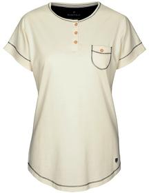 Basefield Shirt 1/2 Arm - offwhite Größe: S
