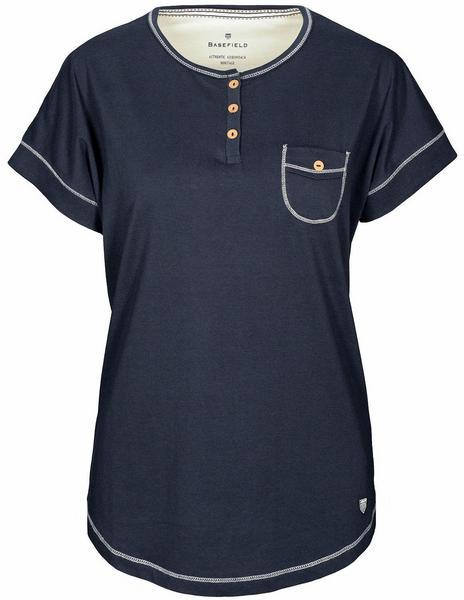 Basefield Shirt 1/2 Arm - Dark blue Größe: S