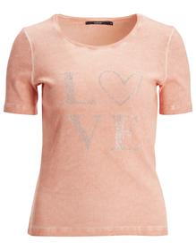 Rdh.-Shirt, 1/2 Arm, LOVE