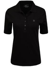 (S)NOS Polo-Shirt, 1/2 Arm,uni - 900/900 SCHWARZ