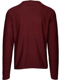 Basefield Rundhals Pullover - Heather Wine Größe: XL