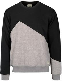 He. r/n Sweatshirt, BLACK