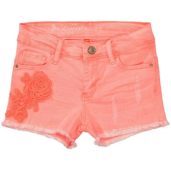 Staccato Color-Denim-Shorts