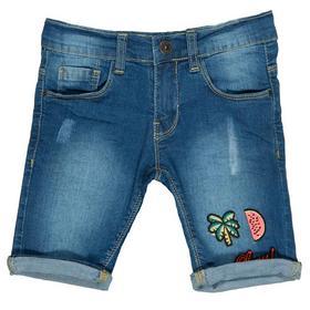 Mädchen Jeans-Bermudas