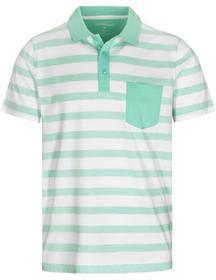 3-Knopf Polo Shirt Streifen