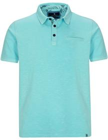 Basefield Polo Shirt mit Farbkontrasten