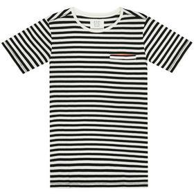 Kn.-Streifen-T-Shirt - 900/BLACK-STR.