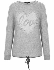 Rdh.-Pullover, 1/1 Arm, Love