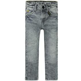 Kn.-Jeans, Skinny + Karabiner - 822/GREY DENIM