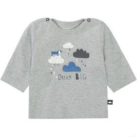 Kn.-Shirt - 809/L.STONE MEL.