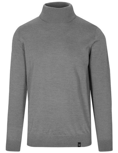 (S)NOS Rollkragen-Pullover Uni