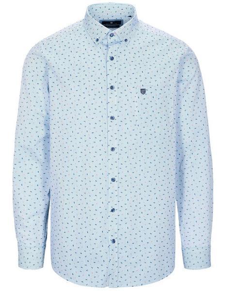 Staccato BASEFIELD Freizeithemd Modern Fit Alloverprint