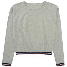 Md.-Boxy Shirt, MID GREY MEL.