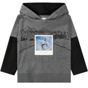 Staccato Kapuzen-Shirt mit Wackelbild