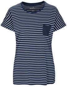 NOS Ringel Shirt - 620/NAVY-WEI