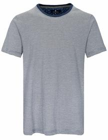 NOS He. Rdh-Shirt 1/2 Arm - 102/WHITE/NAVY