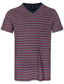 NOS He. V-Shirt 1/2 Arm - 438/LAVA RED/DENIM