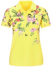 (S) NOS Pique` Polo-Shirt 1/2 - 302/302 YELLOW