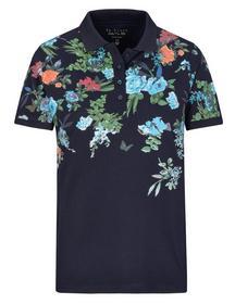 (S) NOS Pique` Polo-Shirt 1/2 - 621/621 NAVY
