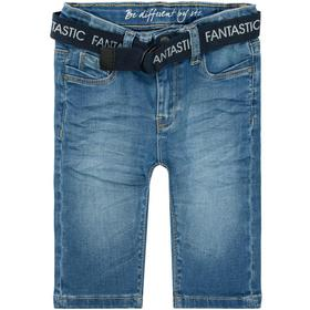 Md.-Jeans-Capri + Gürtel