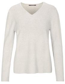 (S)NOS V-Pullover, Gots, 514 LIMETTE