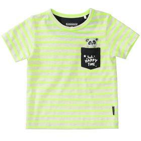 Kn.-T-Shirt - 300/NEON YELLOW STR.
