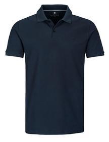 (S)-NOS Polo Pique - 607/607 BLUE NAVY