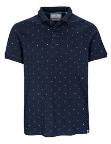 Polo-Shirt 1/2 Arm - 607/BLUE NAVY