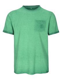 Staccato BASEFIELD ORGANIC COTTON T-Shirt mit Logo-Stitching