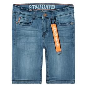 Staccato Jeans-Bermudas mit Neon-Details