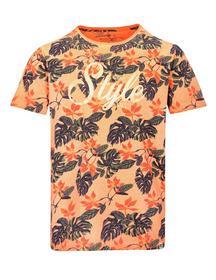 r/n T-Shirt 1/2 - 405/BRIGHT ORANGE