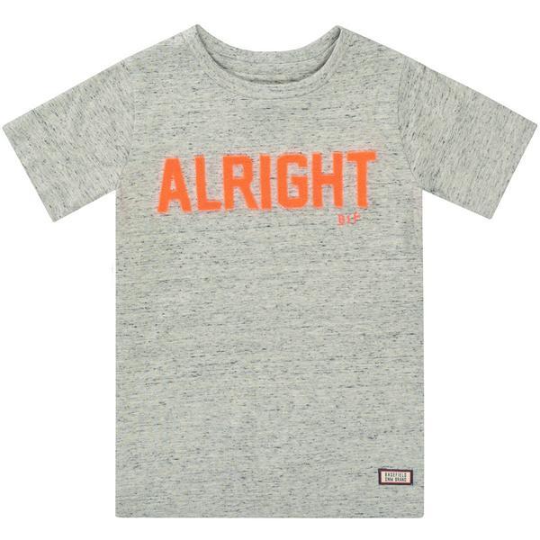 Kn.-T-Shirt - 800/GREY STRUCTURE