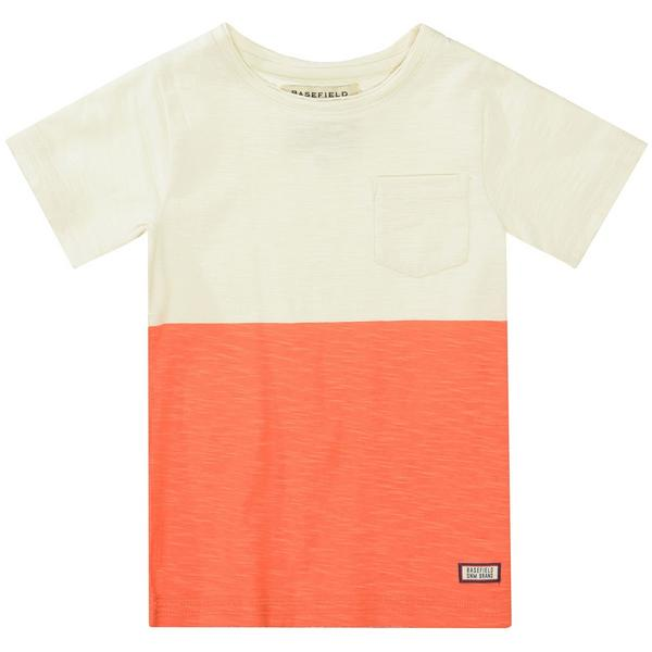 Kn.-T-Shirt - 103/ECRU BRIGHT RED