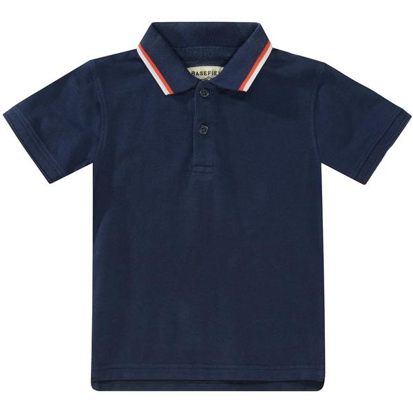 Kn.-Polo-Shirt - 617/DEEP SEA