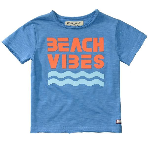 Kn.-T-Shirt - 622/LIGHT OCEAN MEL.