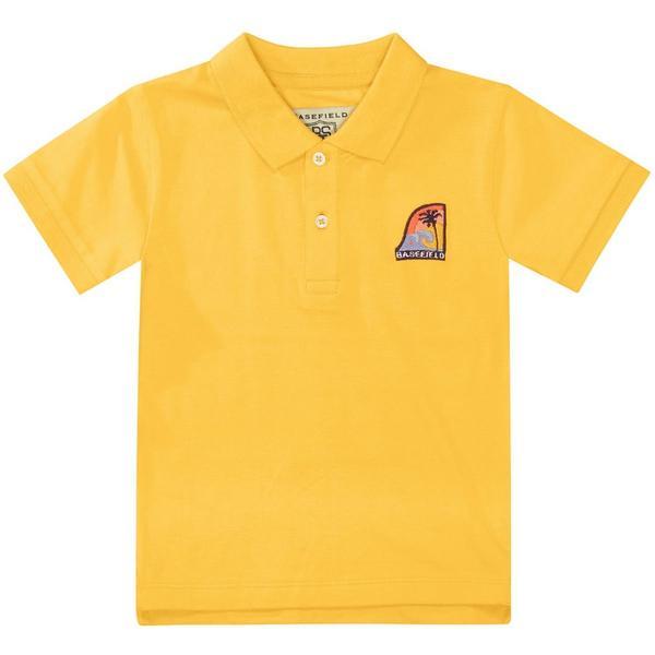 Kn.-Polo-Shirt - 309/SUN YELLOW